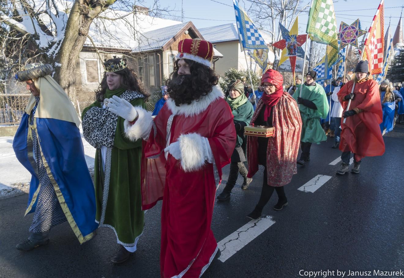 Pierwszy sokołowski Orszak Trzech Króli