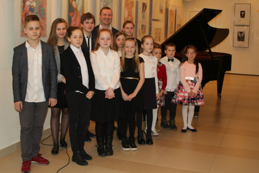Audycja Muzyczna klasy fortepianu