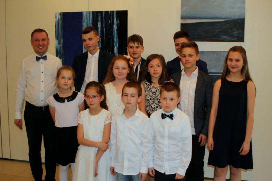Koncert Uczniów Ogniska Muzycznego