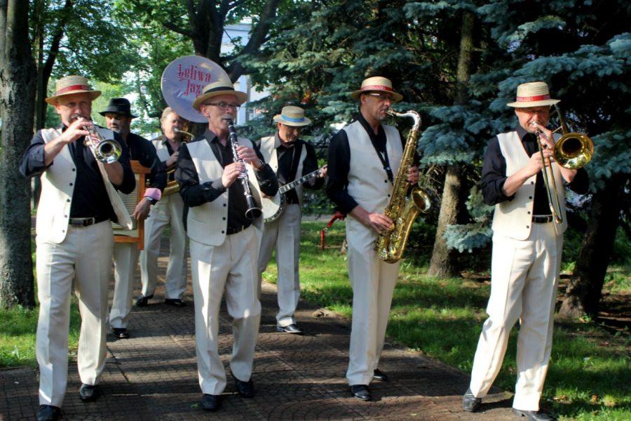 Koncert Leliwa Jazz Band w SOK!