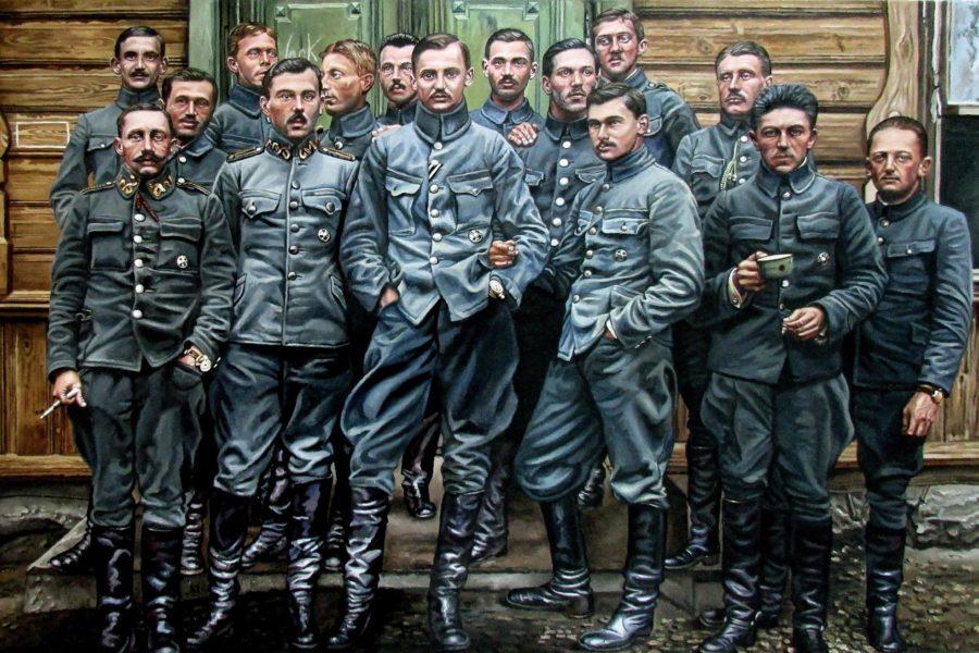 """Wystawa """"100 legionistów na 100-lecie Niepodległości"""""""