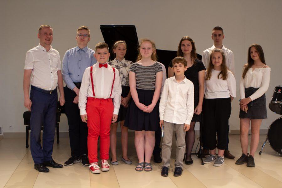 Audycja muzyczna klas Michała Soszki