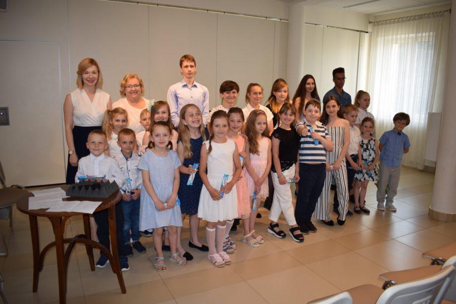 Audycja Muzyczna klas Krystyny Kowalewskiej i Anny Mitury
